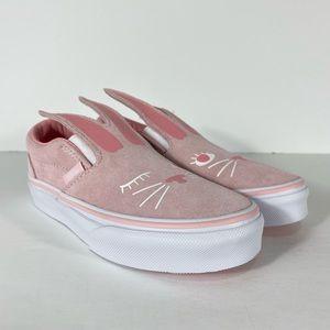 Vans Slip-On Bunny Chalk Pink Sneakers